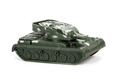 Miniature Toy Tank Royalty Free Stock Photo