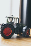 Miniature Toy Tractor Royalty Free Stock Images