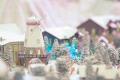 Miniature train set Stock Photography