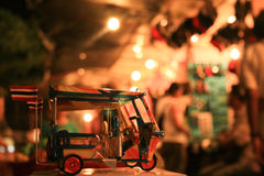 Miniature Tuk Tuk Stock Photo