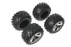 Miniature Tyres Royalty Free Stock Photo