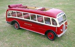 Miniature vintage bus ride Stock Image