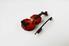 Miniature violin Royalty Free Stock Image