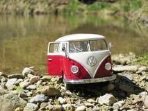 Miniature VW Bulli 1962 Royalty Free Stock Photography
