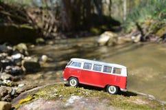 Miniature VW Bulli 1962 Royalty Free Stock Images