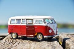 Miniature VW Bulli 1962 Royalty Free Stock Photo