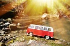 Miniature VW Bulli 1962 Stock Photo