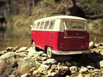 Miniature VW Bulli 1962 Stock Photography