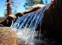 Miniature Waterfall Stock Images