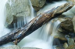 Miniature waterfall Royalty Free Stock Photography