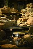 The miniature waterfall stock images