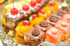 Miniature wedding cakes Royalty Free Stock Photo