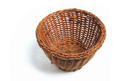 Miniature Wicker Basket Royalty Free Stock Images