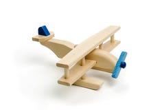 Miniature wood airplane stock photos