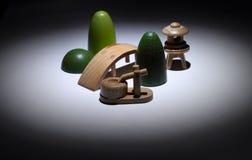 Miniature zen garden composition Stock Image