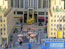 Miniaturen in Legoland, Florida Lizenzfreie Stockbilder