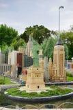 Miniaturen in Legoland, Florida Stock Fotografie