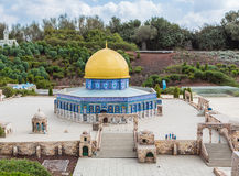 Miniaturenmuseum van Israël stock foto