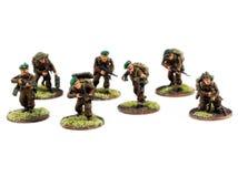 Miniatures de guerre, peintes, la deuxième guerre mondiale, WWII Image libre de droits