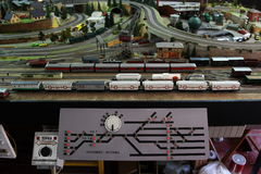 Miniatures de train Images stock