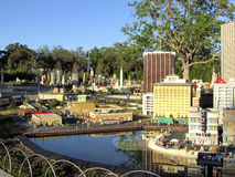 Miniatures in Legoland, Florida Stock Photography