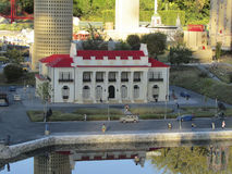 Miniatures in Legoland, Florida Royalty Free Stock Photos