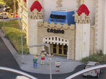 Miniatures in Legoland, Florida Royalty Free Stock Images