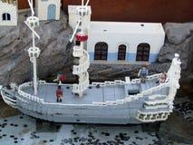 Miniatures in Legoland, Florida Stock Images