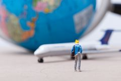 Miniatures people Royalty Free Stock Photography