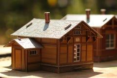 Miniaturhaus Lizenzfreies Stockfoto