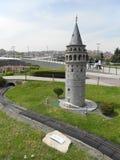 Miniaturk或土耳其缩样公园 库存图片