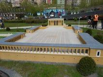 Miniaturk或土耳其缩样公园 图库摄影