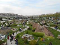 Miniaturk或土耳其缩样公园 免版税库存图片