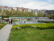 Miniaturk ή μικροσκοπικό πάρκο της Τουρκίας στοκ εικόνα με δικαίωμα ελεύθερης χρήσης