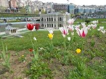 Miniaturk ή μικροσκοπικό πάρκο της Τουρκίας στοκ εικόνες με δικαίωμα ελεύθερης χρήσης