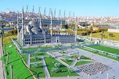 miniaturk πάρκο στοκ φωτογραφίες με δικαίωμα ελεύθερης χρήσης