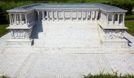 Miniaturk, Costantinopoli Copia riduttrice dell'altare di Pergamon nell' Fotografia Stock Libera da Diritti