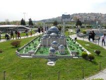 Miniaturk of het Miniatuurpark van Turkije Royalty-vrije Stock Foto's
