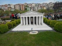 Miniaturk of het Miniatuurpark van Turkije Stock Afbeeldingen