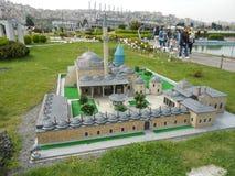 Miniaturk of het Miniatuurpark van Turkije Royalty-vrije Stock Afbeeldingen