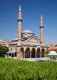 Miniaturk, Istambul Uma cópia da escala da mesquita de Manisa Muradiye dentro Imagens de Stock