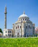 Miniaturk, Istanbul. Pertevniyal Valide Sultan Camii in Istanbul Royalty Free Stock Photography