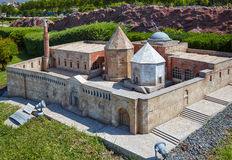 Miniaturk, Istanbul. A scale copy of Alaeddin Mosque in  Konya, Royalty Free Stock Photography