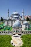 Miniaturk, Istanbul. A scale copy of Suleymaniye Mosque in Istan Stock Image