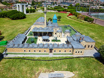 Miniaturk, Istanbul. A scale model of Mevlana Museum, located in Stock Photos