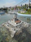 Miniaturk o parque de la miniatura de Turquía Fotos de archivo