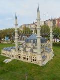 Miniaturk o parque de la miniatura de Turquía imagenes de archivo