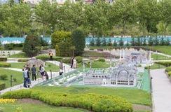 Miniaturk park w Istanbuł obrazy stock