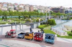 Miniaturk park w Istanbuł fotografia royalty free