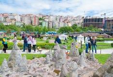 Miniaturk park w Istanbuł fotografia stock
